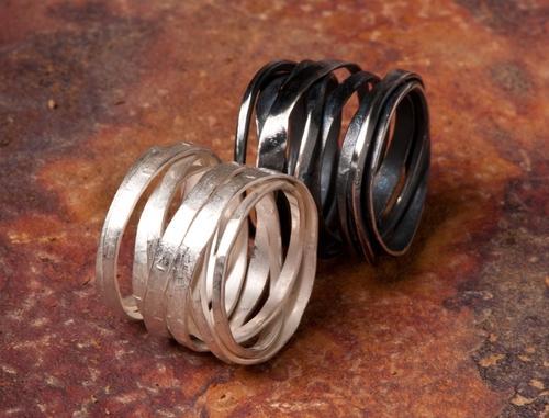 Resultado de imagen para oxidized sterling jewelry
