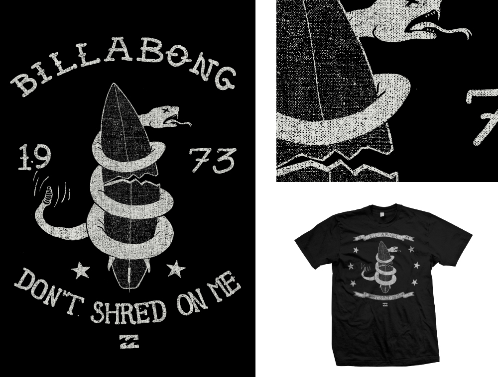 49fae85718e6 Billabong T-shirt Graphics — Imagetailor Studio