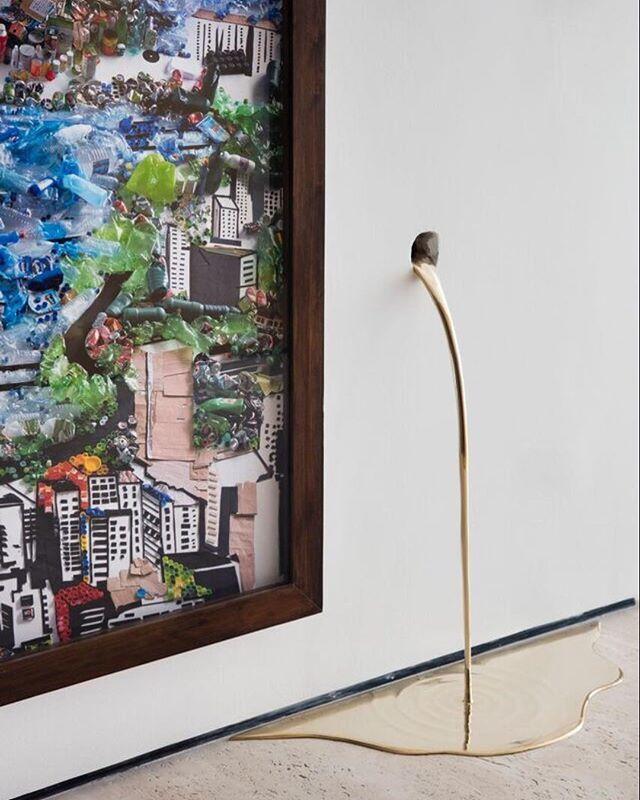 Obras de Vik Muiz e Vanderlei Lopes - Projeto @studioroca