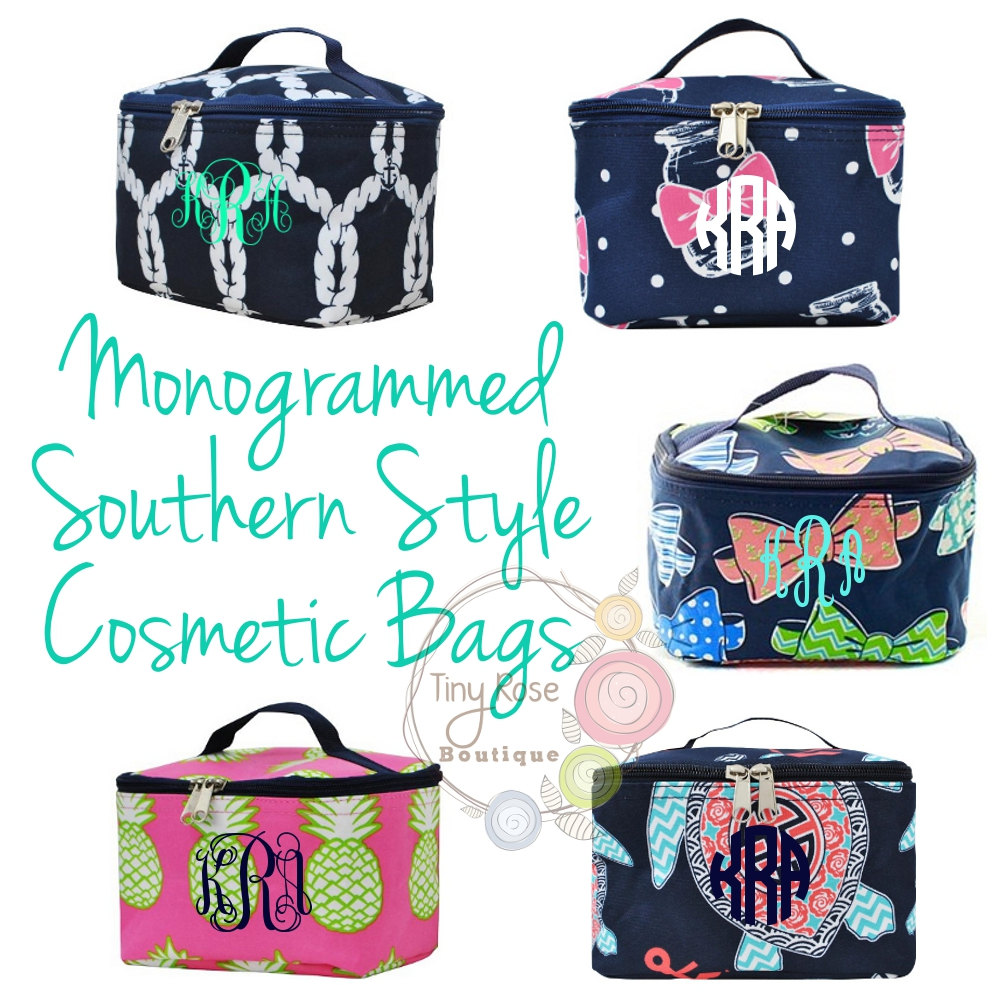 Monogrammed bags by Tiny Rose Boutique