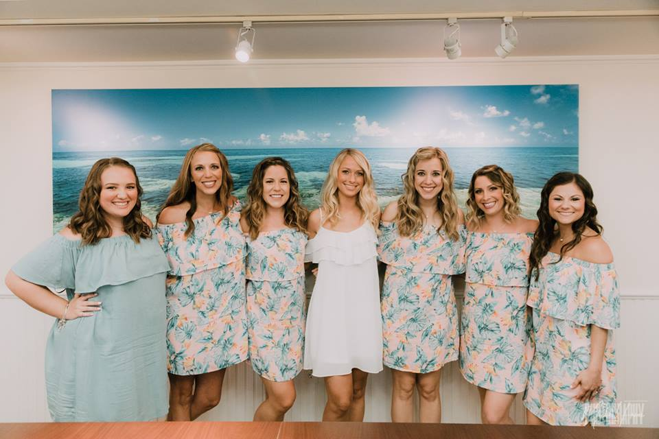 Bridesmaids Hair and Makeup in Key West