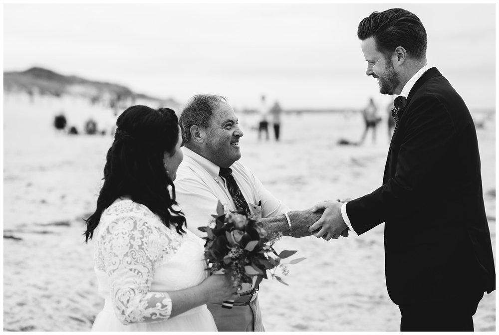 Intimate Beach Wedding Cape Cod Wedding Photographer Yarmouth MA-61.jpg
