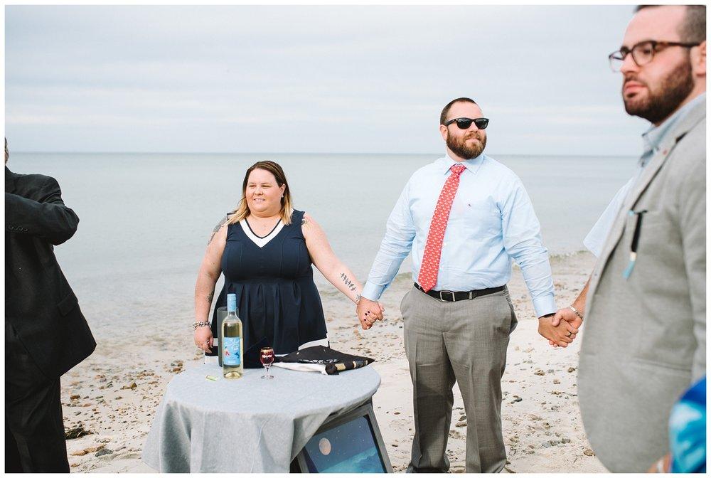 Intimate Beach Wedding Cape Cod Wedding Photographer Yarmouth MA-81.jpg