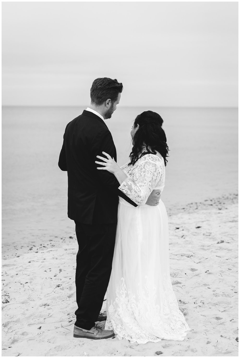 Intimate Beach Wedding Cape Cod Wedding Photographer Yarmouth MA-110.jpg