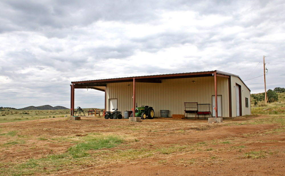 Main Barn Covered Area
