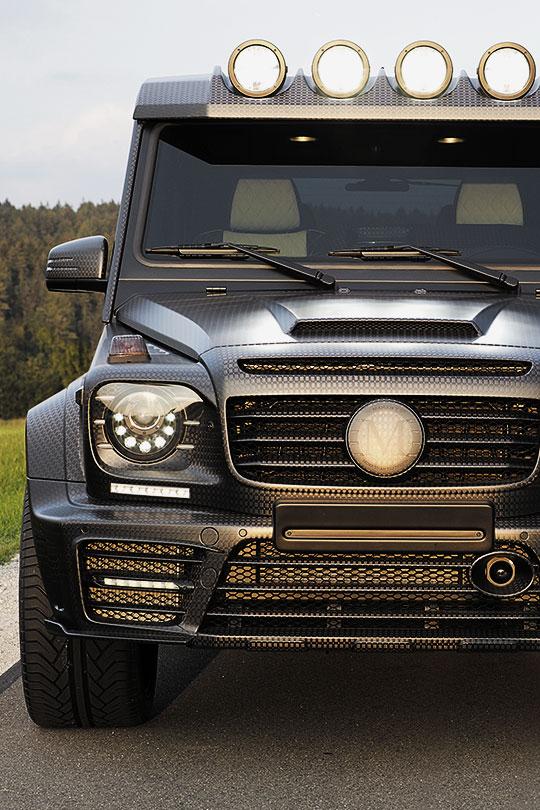 fullthrottleauto: Mansory Gronos Black Edition (W463) '2015 (#FTA)