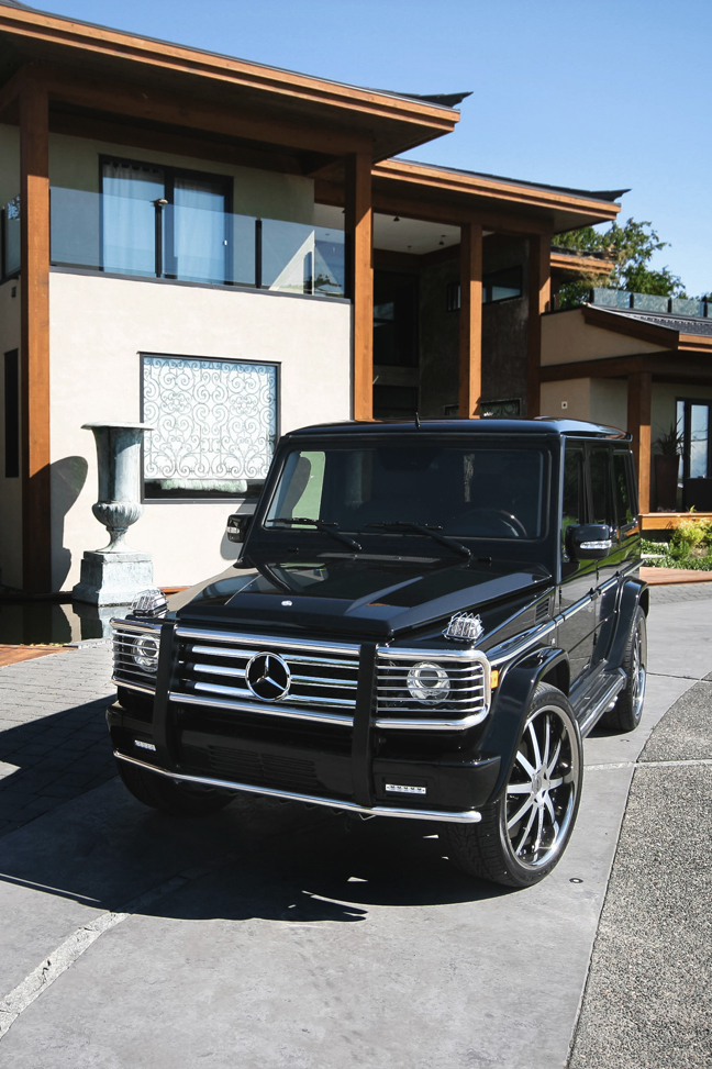 themanliness: Mercedes G55 AMG! via