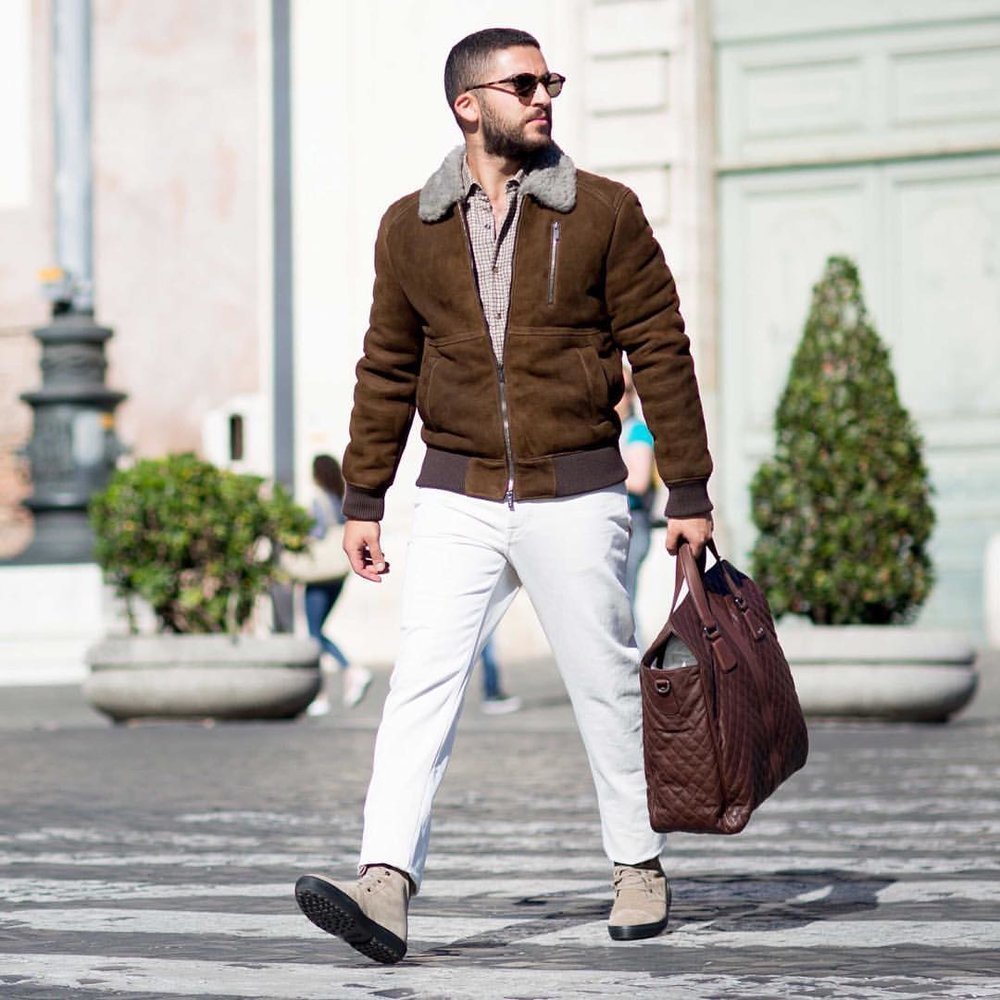 smfblog: Autumn Mornings with @Tods | Full outfit now on the blog. Link in bio! (at Rome, Italy)