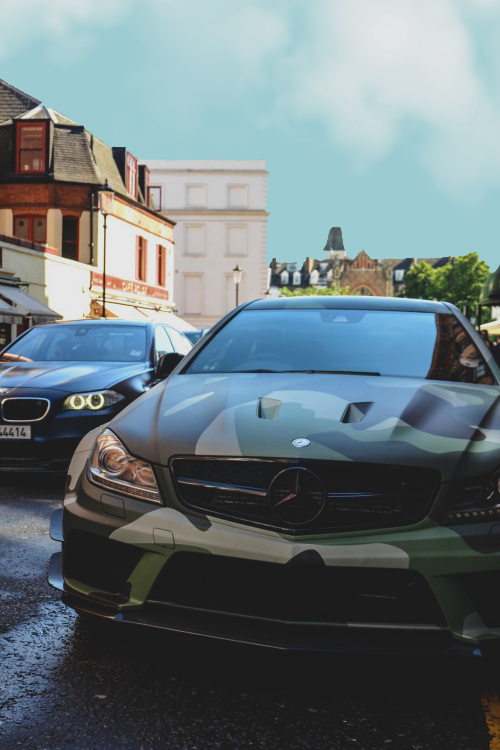 visualechoess: Mercedes-Benz C 63 AMG