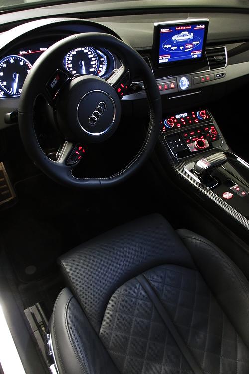 Audi S8 interior by classy-captain