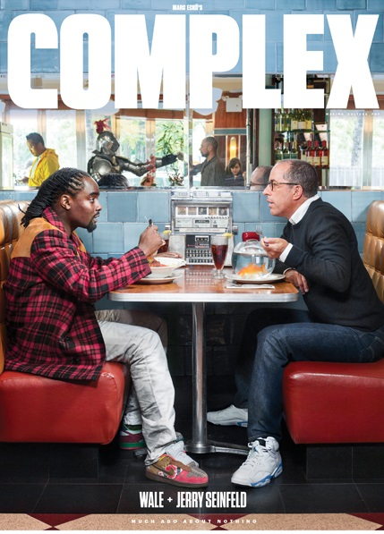 billidollarbaby: Wale & Jerry Seinfeld Cover Complex Magazine December/January 2015