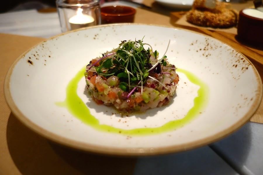 Grouper tartare