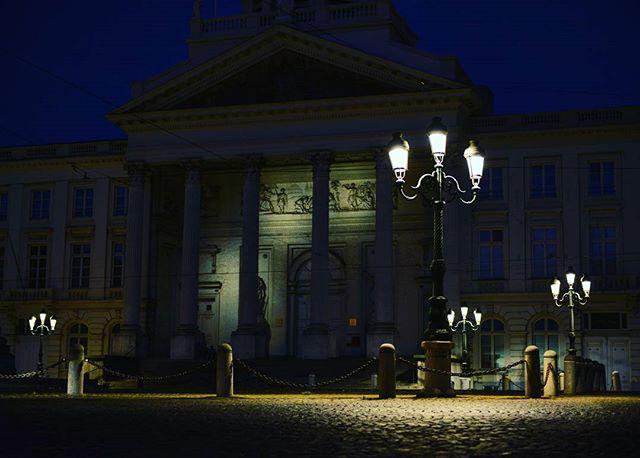 Illuminated Path :: Follow The Light #Prague #traveling #travel #europe #shutterspeed #longexposure #city #citylights #nightlights #nightlife #vscophile #vscocam #vsco #building #lamppost #streetlights #dark #love #streetlamp #streetlights #nikon #nikonpros #d610 #goldeneyephotography #justgoshoot