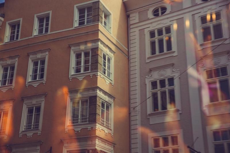 Salzburg city Austria