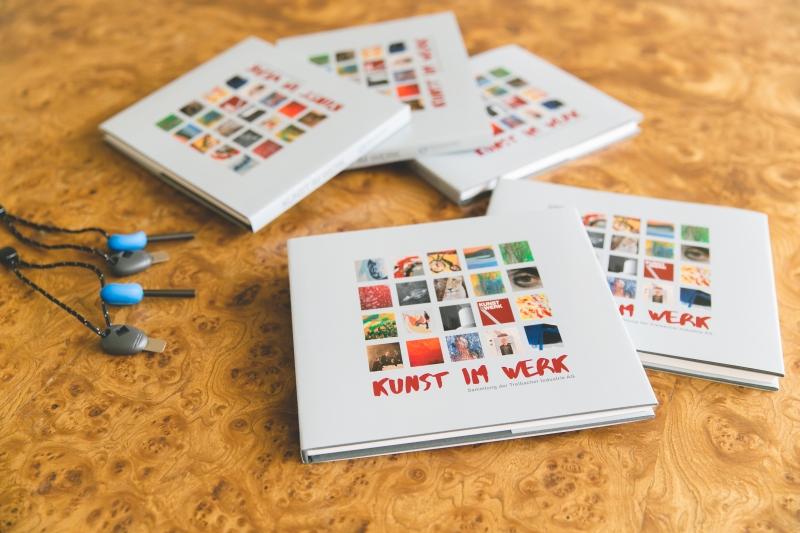 art collection book Austrian artists