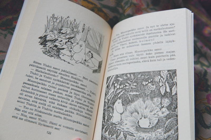 moomin book illustrations