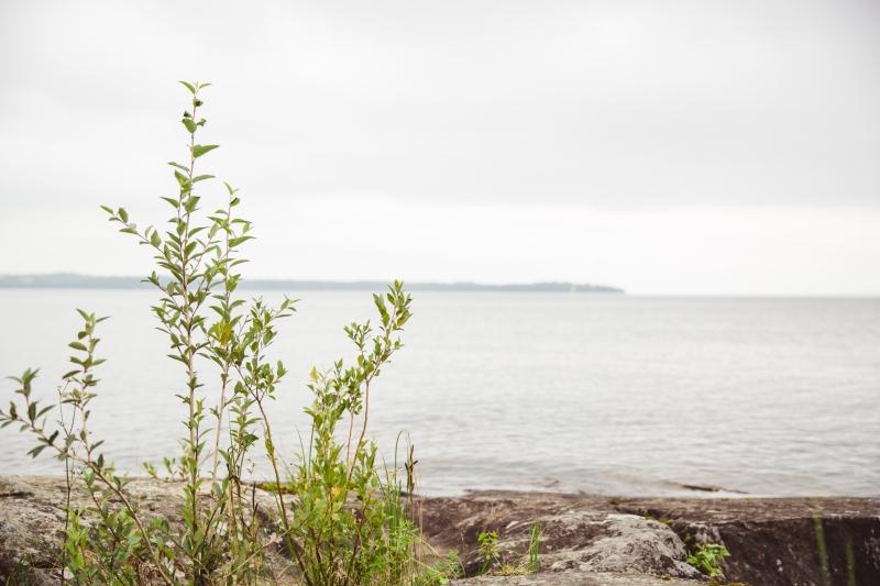 Finland lake Näsijärvi horizon
