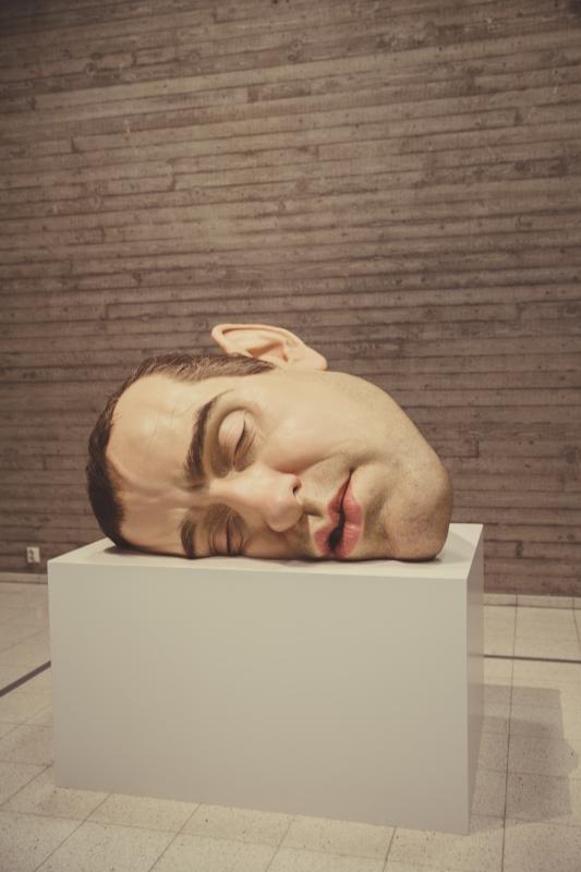 Ron Mueck Mask II Sara Hildén Art Museum