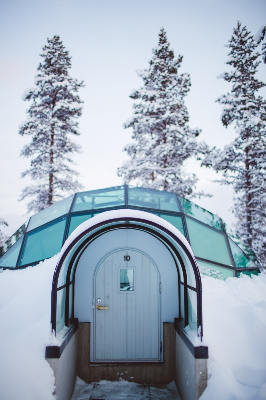 Kakslauttanen Arctic Resort Finnish Lapland Saariselkä
