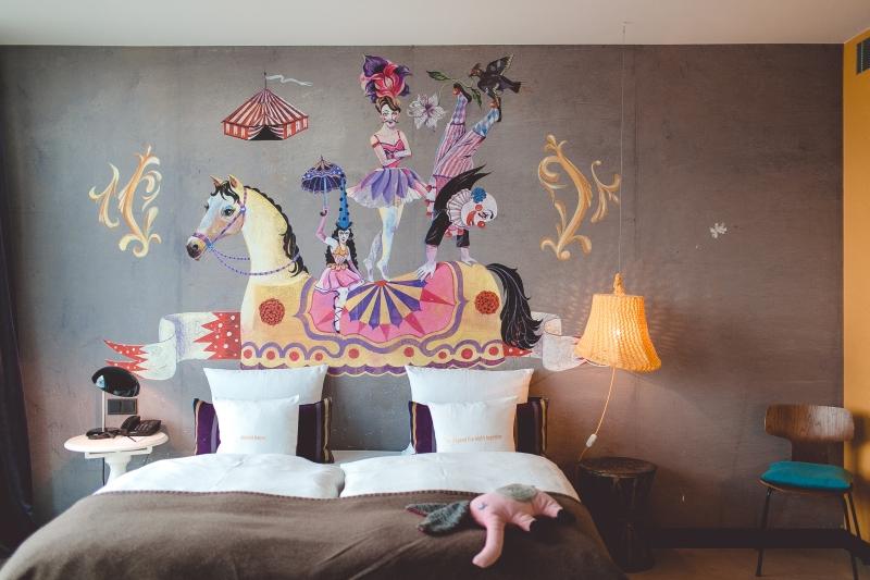 25hours Hotel Vienna review Wien Design Hotel MuseumsQuartier DREIMETA Olaf Hayek