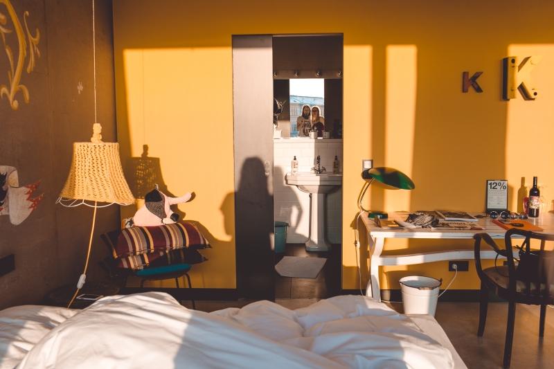 25hours hotel Vienna Wien Museumsquartier Designhotel Austria Dreimeta