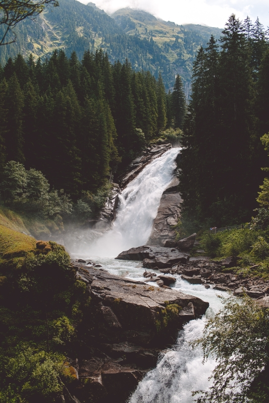 Krimmler Wasserfälle Krimml Waterfalls Visit Austria Österreich