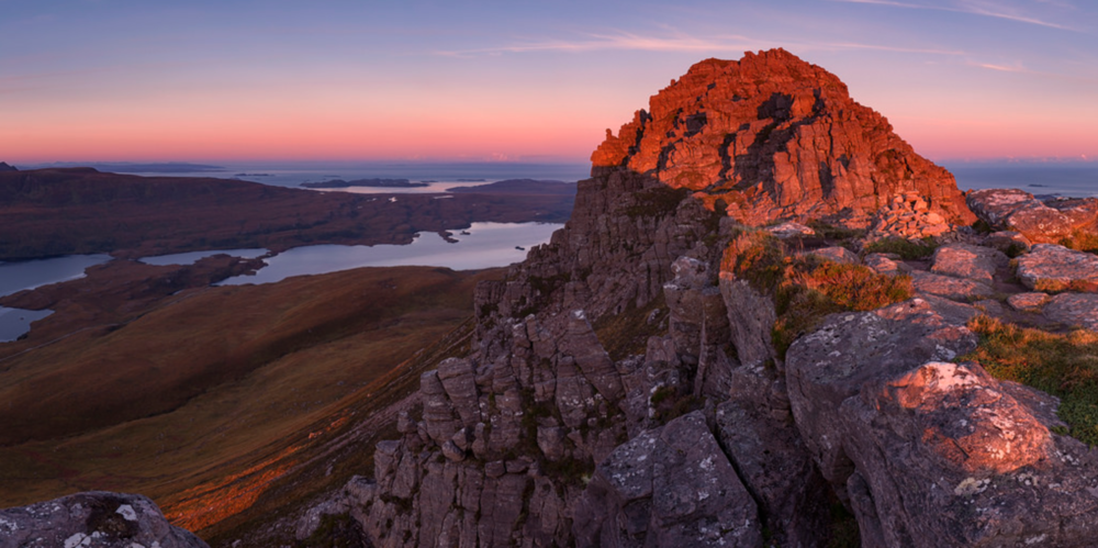 Stac Pollaidh Mountain