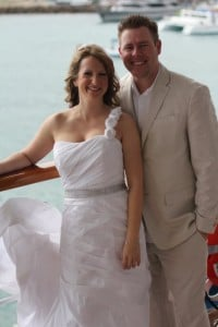 wedding boat pic