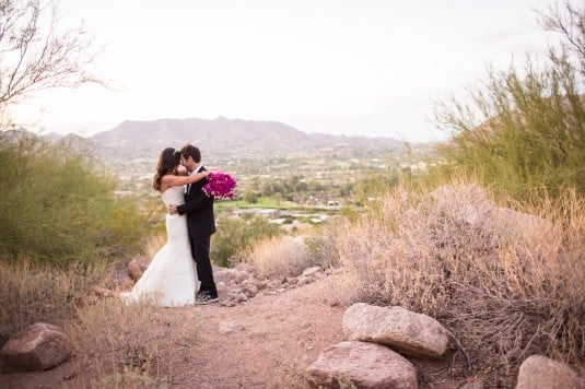 Bride and Groom Mountains Az