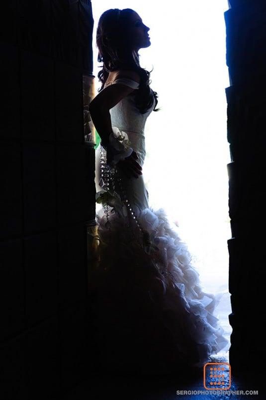pretty bride az biltmore