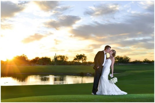 grayhawk sunset wedding