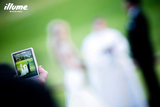 phone wedding
