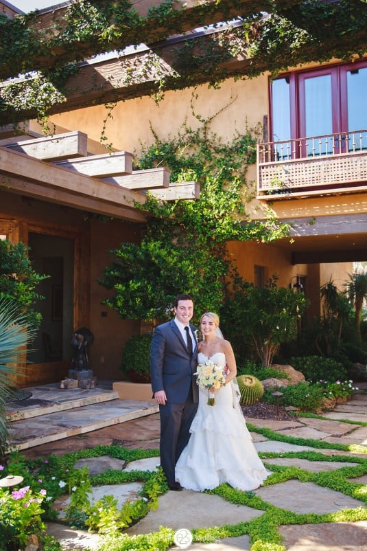Arizona bride andf groom