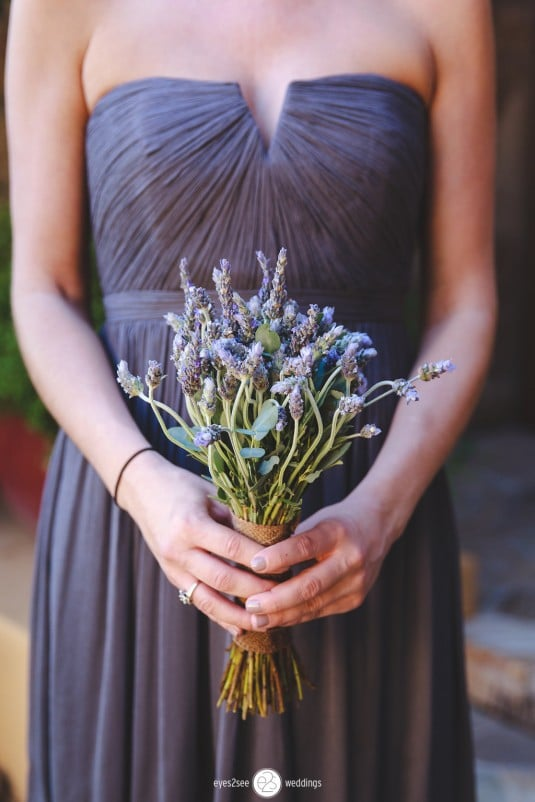Arizona Bridesmaids bouquet