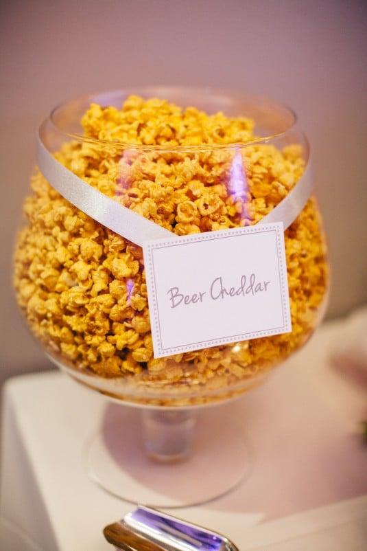 wedding reception snack