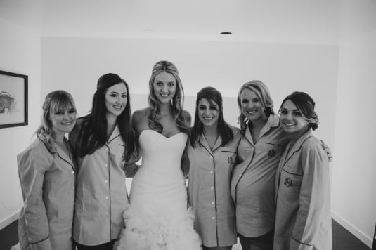 arizona bride bridal party