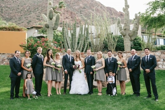arizona bridal party