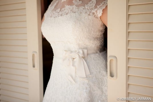 Arizona bride wedding dress
