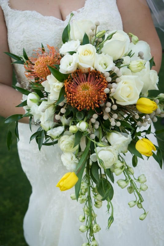 Arizona bride bouquet