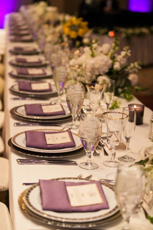 Arizona BIltmore head table