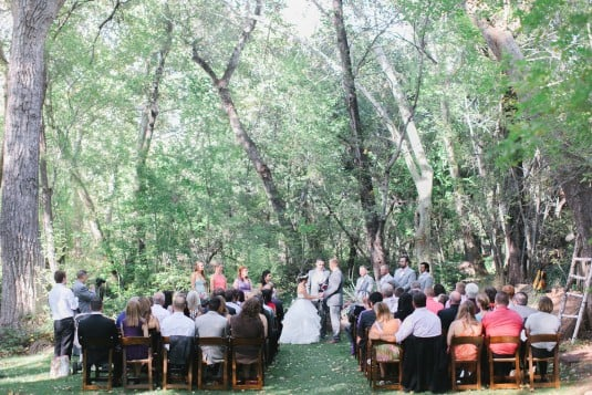 Sedona wedding cermony