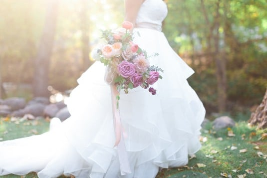 Arizona wedding gown