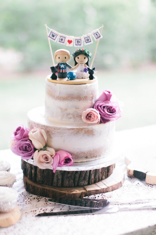 Sedona Wedding cake