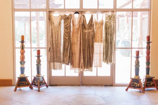 Gold sparkly dresses