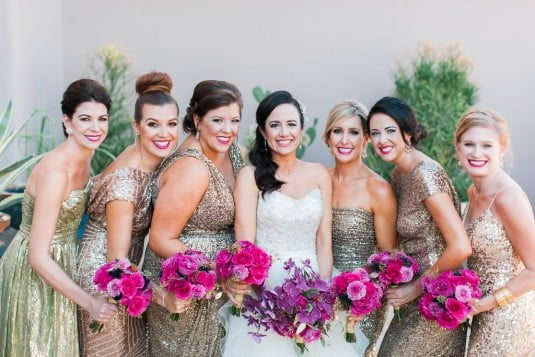 Scottsdale wedding party