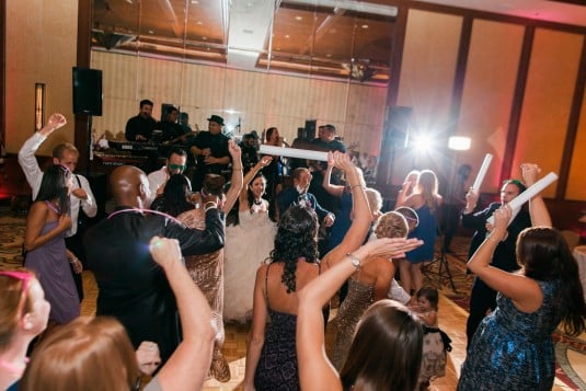 Wedding dance reception