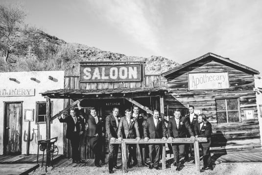 Groomsmen Saloon picture