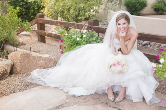 Scottsdale Bride in gown