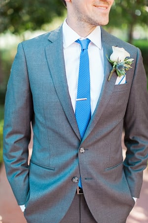 Groom's wedding attire