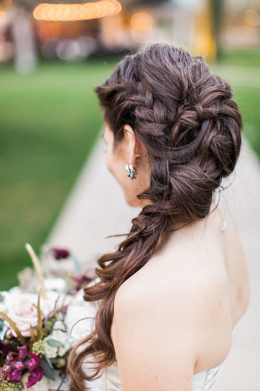 arizona wedding planner, wedding, arizona wedding, scottsdale wedding planner, wedding hair, braid
